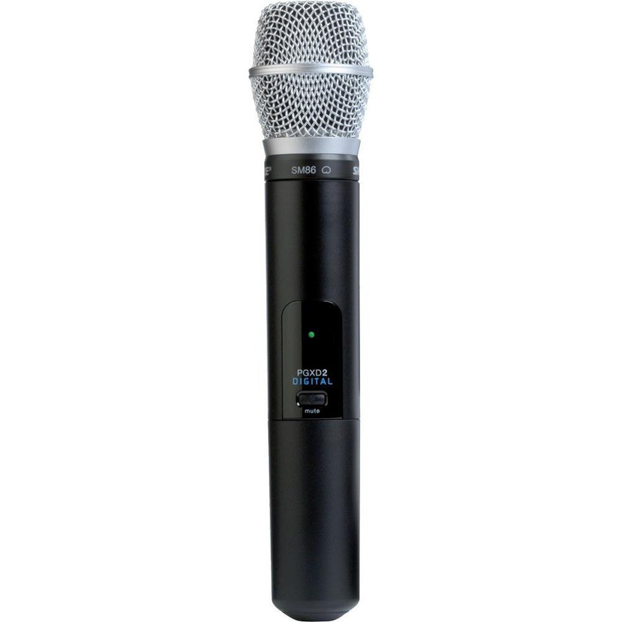 View larger image of Shure PGXD2/SM86 Wireless Handheld Microphone Transmitter - X8 Band