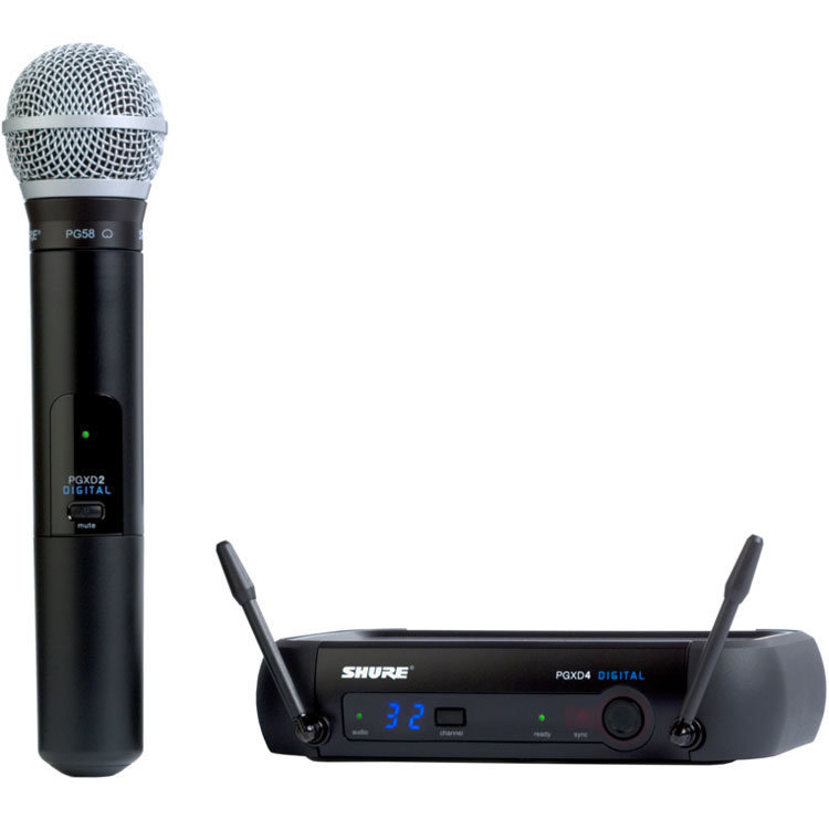View larger image of Shure PGXD24/PG58 Wireless Handheld System - X8 Band