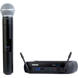 Shure PGXD24/SM58 Wireless Handheld System - X8 Band