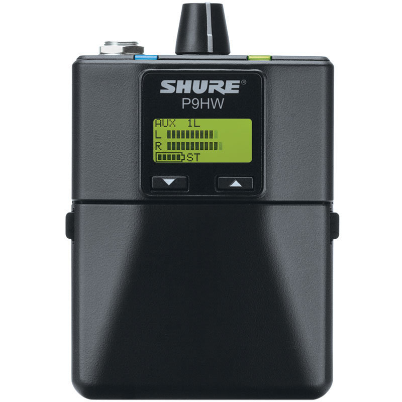 View larger image of Shure PSM 900 Wired Bodypack Personal Monitor