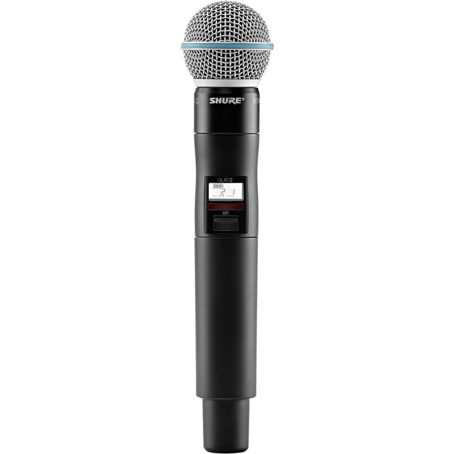 View larger image of Shure QLXD2/B58-G50 Wireless Handheld Microphone Transmitter - G50 Band