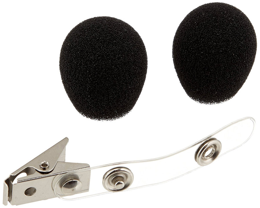 View larger image of Shure RK318S Headset Microphone Windscreens and Clip