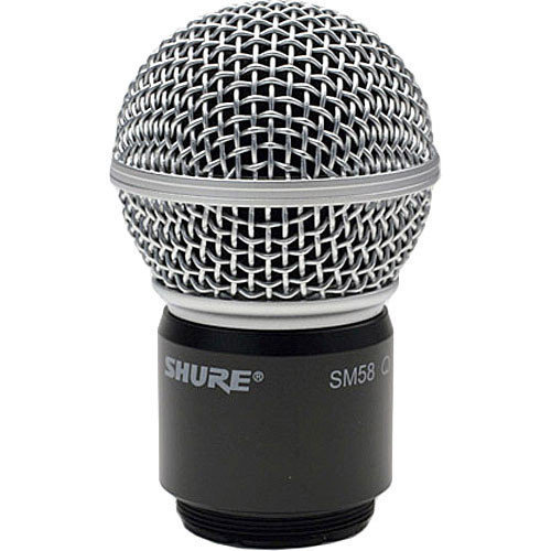View larger image of Shure RPW112 Wireless SM58 Microphone Capsule