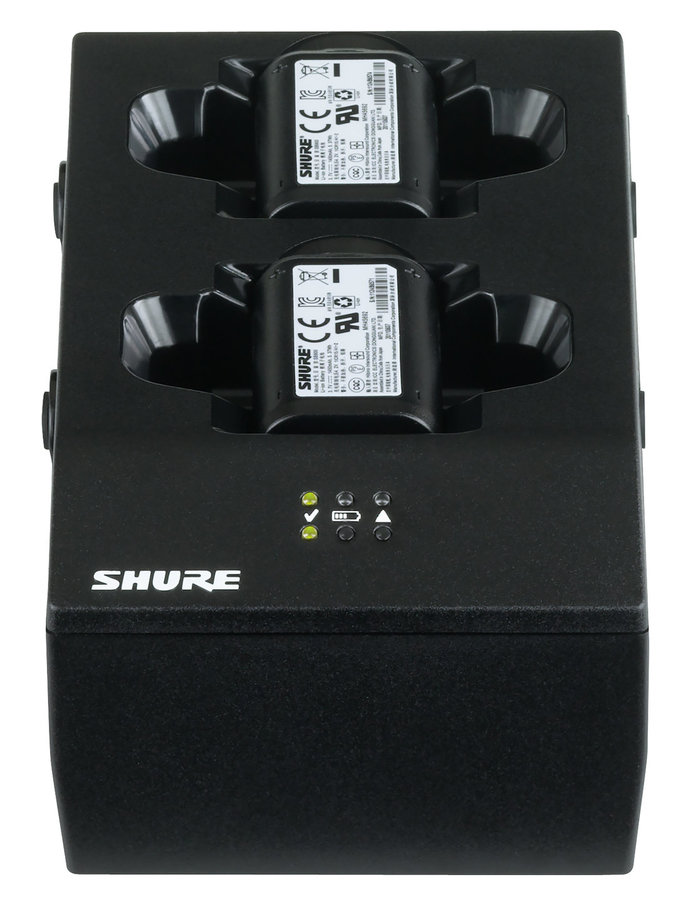 View larger image of Shure SBC200 Dual Docking Shure Battery Charger with Power Supply