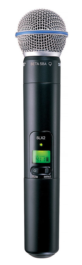 View larger image of Shure SLX24/BETA58 Handheld Wireless System