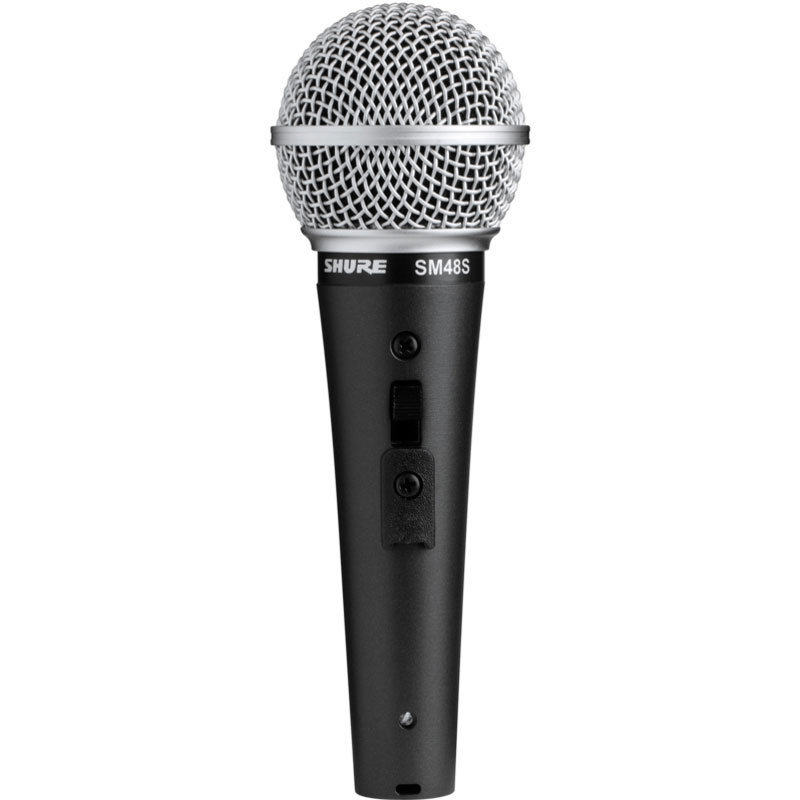 View larger image of Shure SM48 Cardioid Dynamic Vocal Microphone