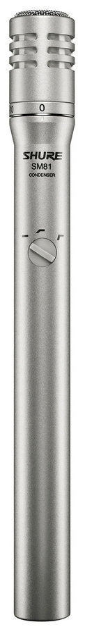 View larger image of Shure SM81-LC Cardioid Condenser Instrument Microphone