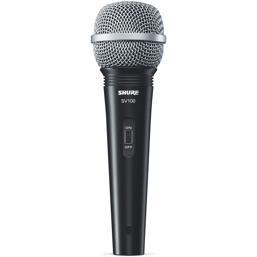 View larger image of Shure SV100-W Dynamic Cardioid Microphone