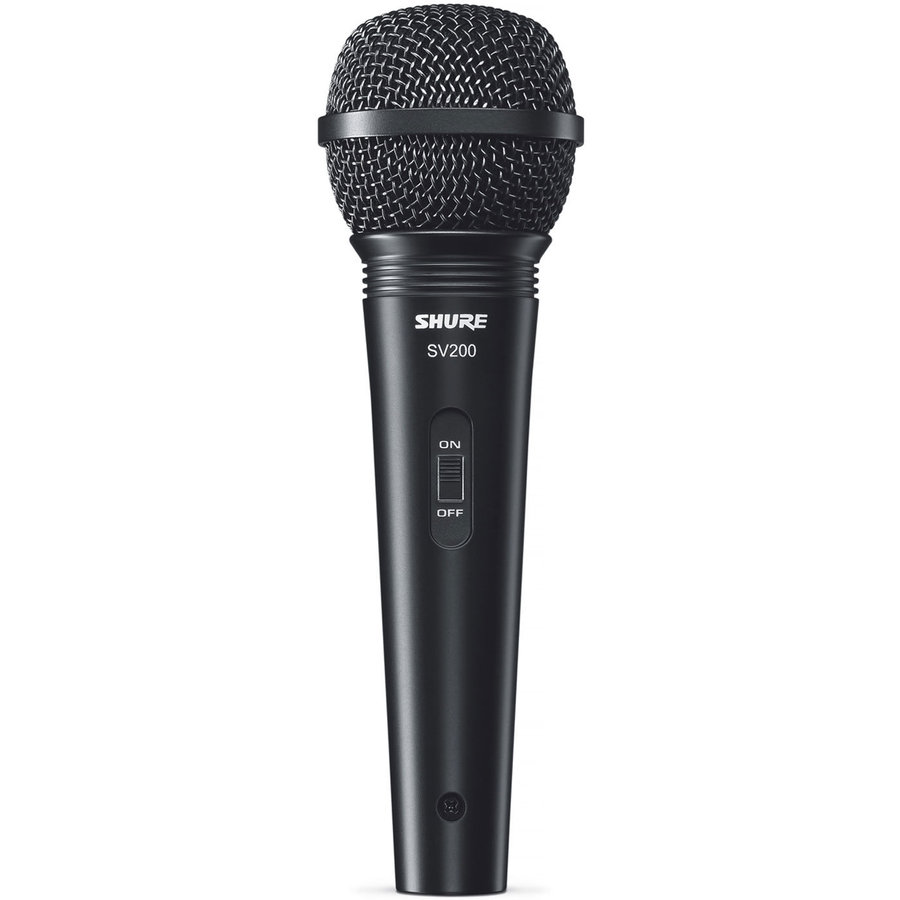 View larger image of Shure SV200-W Cardioid Vocal Microphone with On/Off Switch