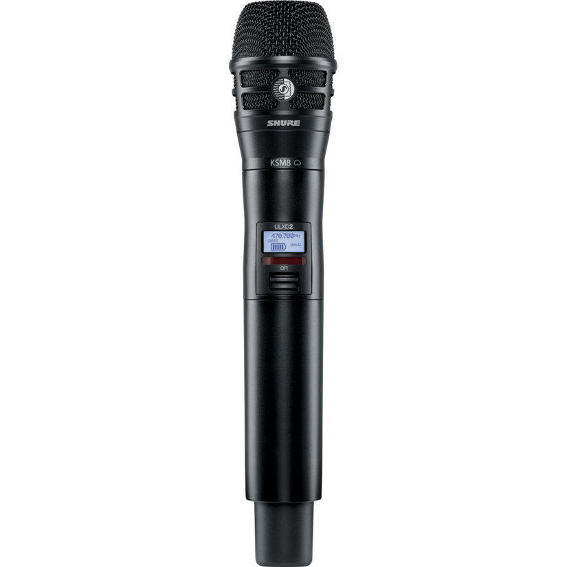 View larger image of Shure ULXD2/K8B Wireless Handheld Microphone Transmitter - G50 Band