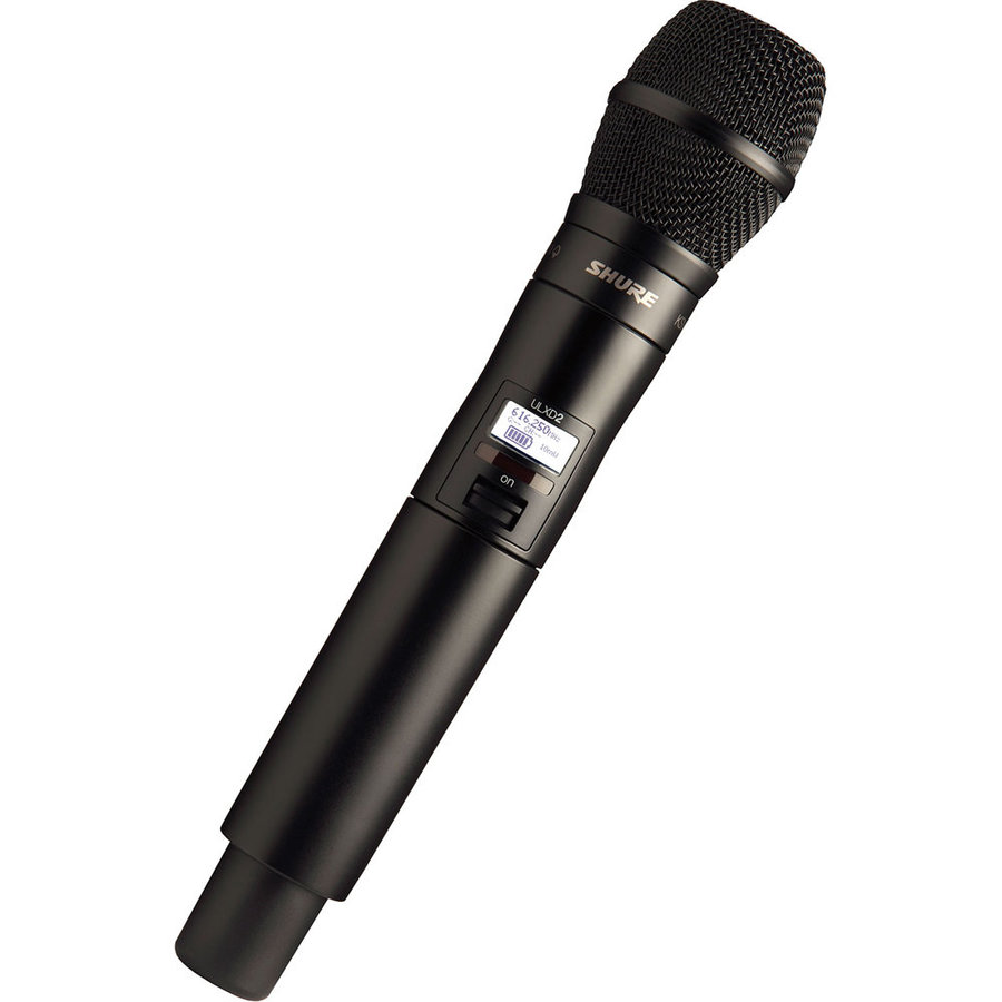 View larger image of Shure ULXD2/KSM9 Digital Handheld Transmitter with KSM9 Capsulre - G50 Band