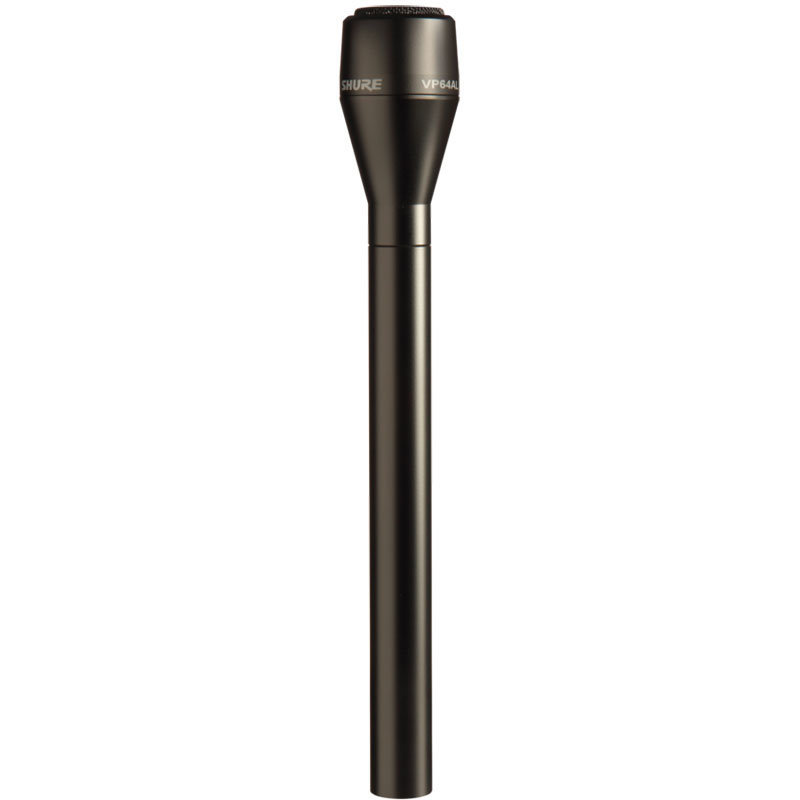 View larger image of Shure VP64A Professional Video/Audio Productions Microphone - 7-7/8