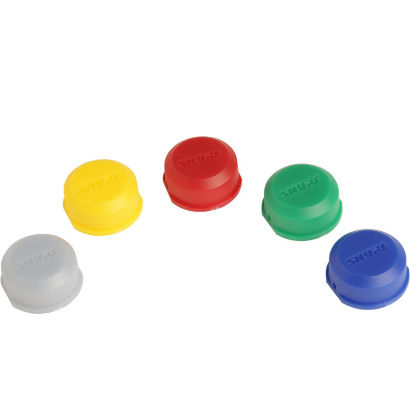 View larger image of Shure WA621 ID Antenna Caps for BLX2 Handheld Transmitters - Multi, 5 Pack