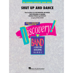 Shut Up And Dance (Walk The Moon) - Score & Parts, Grade 1.5
