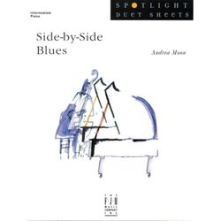 Side-By-Side Blues - Piano Duet (1P4H)
