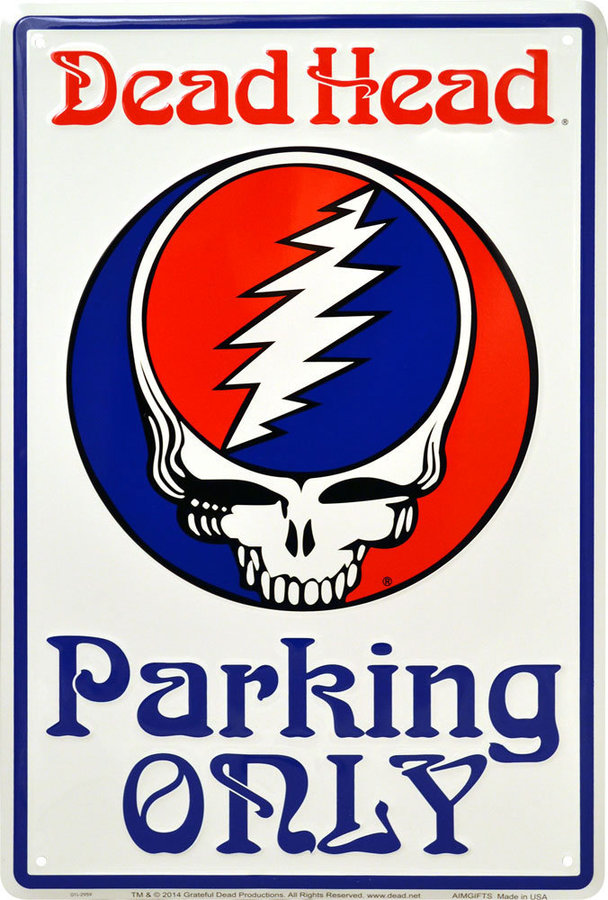 View larger image of Grateful Dead Steal your Face Parking Sign