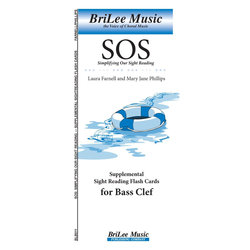 Simplifying Our Sight Reading Supplemental Sight Reading Flashcards for Bass Clef
