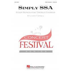 Simply SSA (Four Songs for Treble Chorus), SSA Parts