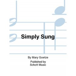 Simply Sung (Orff)