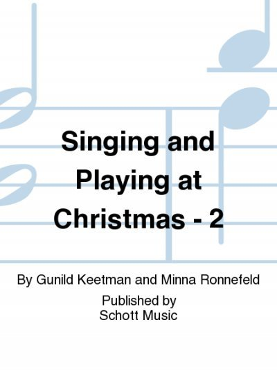 View larger image of Singing & Playing at Christmas Vol.2 (Orff)