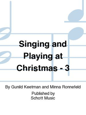 View larger image of Singing & Playing at Christmas Vol.3 (Orff)