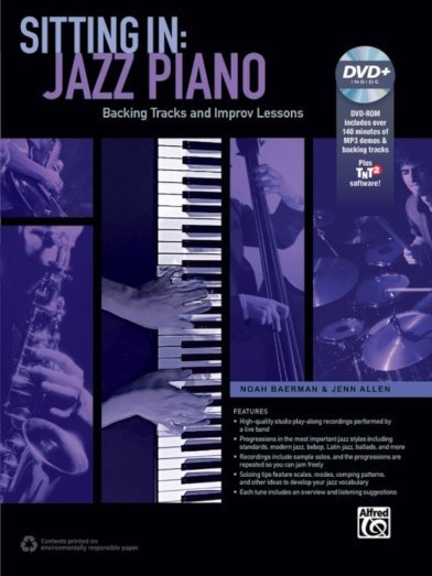 View larger image of Sitting In: Jazz Piano W/DVD-ROM