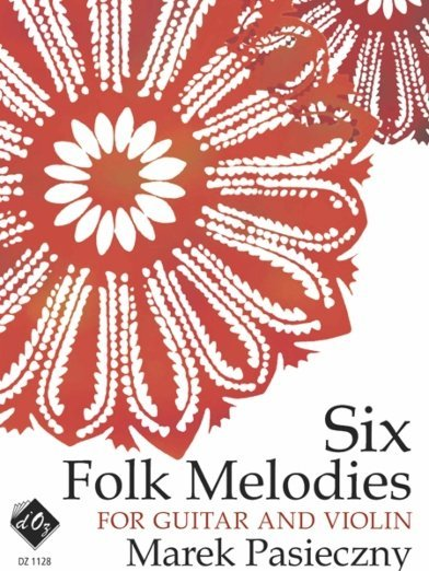View larger image of Six Folk Melodies (Pasieczny) - Guitar & Violin Duet
