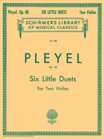 View larger image of Six Little Duets, Op.48 (Pleyel) - Violin Duet