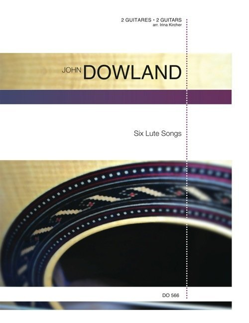 View larger image of Six Luth Songs (Dowland) - Guitar Duet