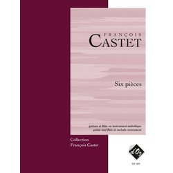 Six Pieces (Castet) - Guitar & Flute Duet