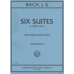 Six Suites For Double Bass (Bach)