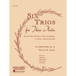 Six Trios for Six Flutes - Full Score