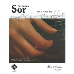 Six Valses (Sor) - Guitar Quartet