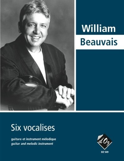 View larger image of Six Vocalises (Beauvais) - Guitar Duet
