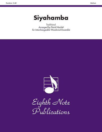 View larger image of Siyahamba - Flex Woodwind Ensemble