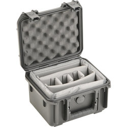 SKB 0907-6 Waterproof Case with Double Dividers - 9 x 7 x 6
