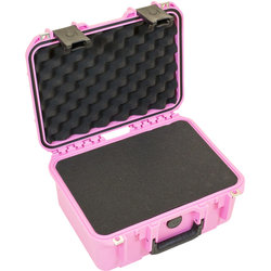SKB 1309-6 Pink Waterproof Case with Cubed Foam - 13 x 9 x 6, Pink