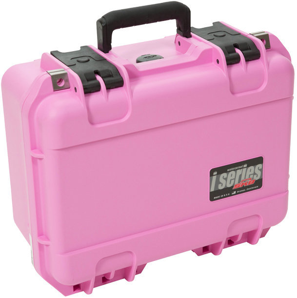 View larger image of SKB 1309-6 Pink Waterproof Case with Cubed Foam - 13 x 9 x 6, Pink
