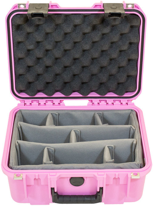 View larger image of SKB 1309-6 Pink Waterproof Case with Dividers - 13 x 9 x 6