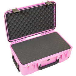 SKB 2011-7 Waterproof Case with Cubed Foam - 20.5 x 11.5 x 7.5, Pink