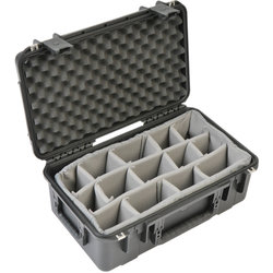 SKB 2011-8 Waterproof Case with Dividers - 20.5 x 11.5 x 8