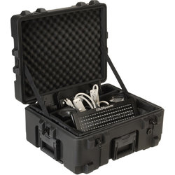 SKB 2217-10 Waterproof Utility Case with Padded Dividers - 22 x 17 x 10.5