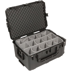 SKB 2617-12 Waterproof Case with Dividers - 26 x 17 x 12