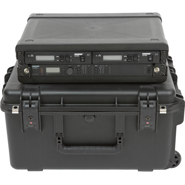 View larger image of SKB 2U iSeries 2217-10 Wireless Microphone Fly Rack Case