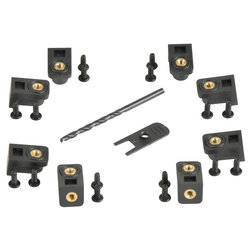 SKB 3i Series Panel Mount Clip Kit - 8 Pack