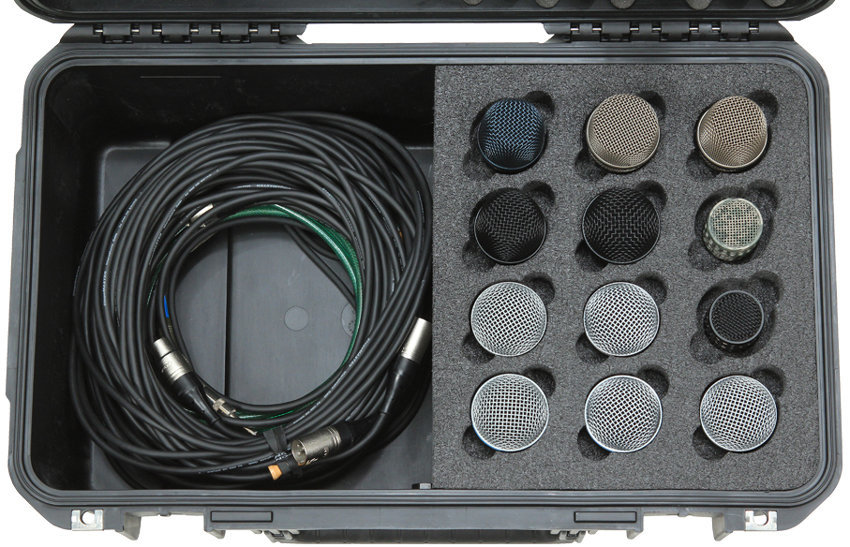 View larger image of SKB iSeries Waterproof Case for 12 Microphones