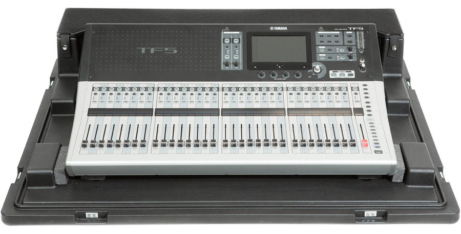 View larger image of SKB Roto-Molded Yamaha TF5 Mixer Case with Wheels