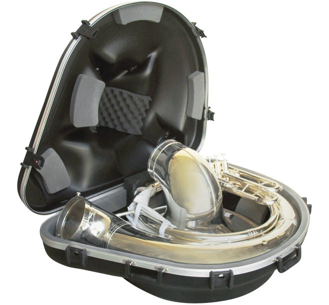 View larger image of SKB Sousaphone Case with Wheels