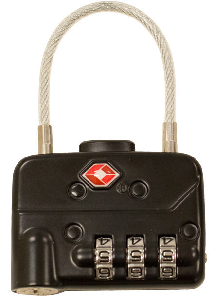 View larger image of SKB TSA Cable Combination Padlock - 2 Pack