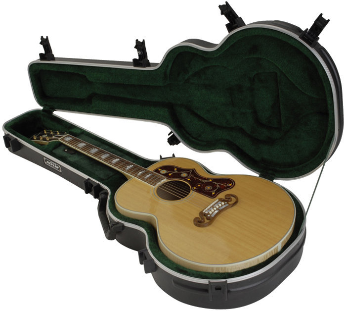View larger image of SKB Universal Jumbo Acoustic Deluxe Guitar Case